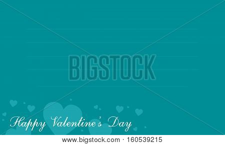 Valentine greeting card collection stock vector illustration