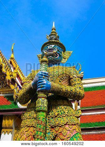 Guard Daemon - Royal Palace, Bangkok at Thailand.