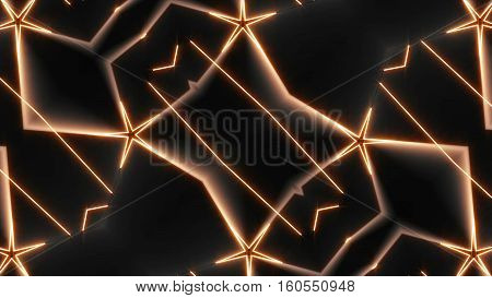 Abstract Kaleida Shapes Background. Computer graphic background
