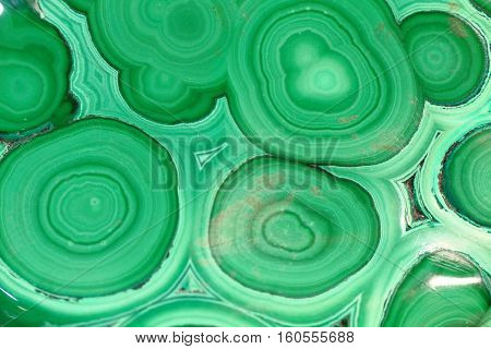 Green Malachite Background