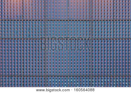 abstract luminescent background leds flickering screen or panel