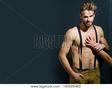 Handsome Muscular Sexy Man