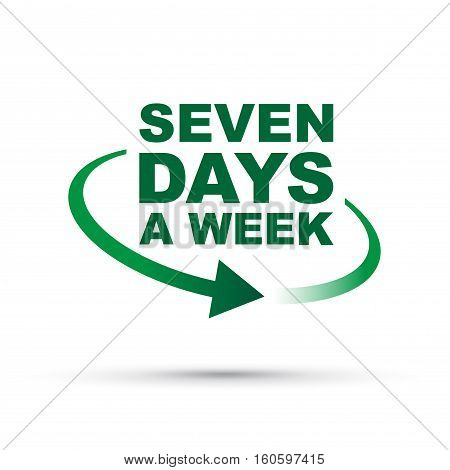 Seven Days Green2 [converted].eps