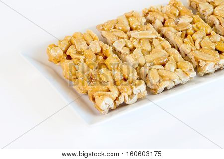 Peanuts Sweets ( Mawlid Halawa ) - Egyptian Culture Dessert usually Eaten During Prophet Muhammad Birth Celebration