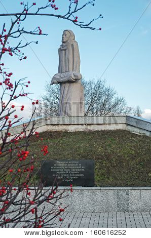 Dnepropetrovsk Ukraine - December 04 2015: Dnepropetrovsk regional