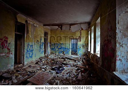 Donbass interiors.