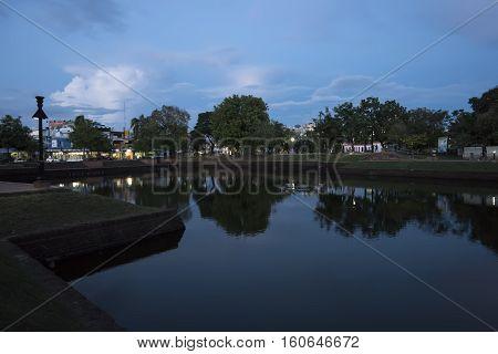 La Lom Pond in Muang Buri Ram, Isaan