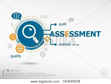 Assessment And Marketing Concept.
