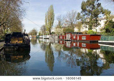 Houseboats, Little Venice, London