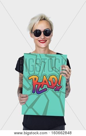 Rad Awesome Cool Creative Fashion Trendy Concept
