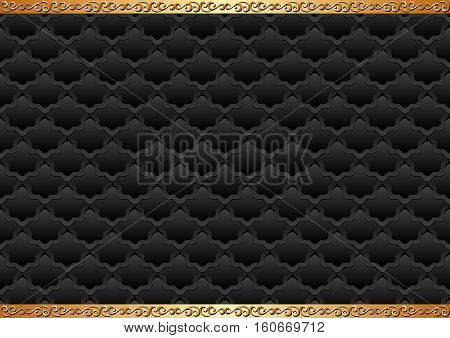 antique background with decorative pattern and ornament
