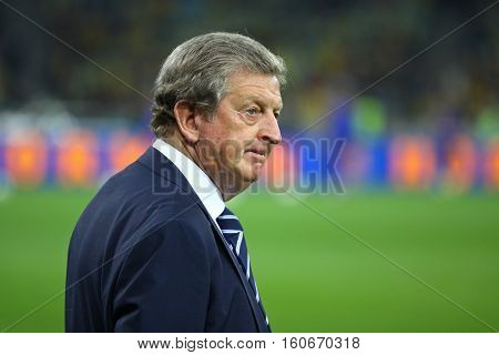 Roy Hodgson, Manager Of England National Football Team