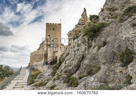 Ancient Castle of Sax - province of Alicante - Spain