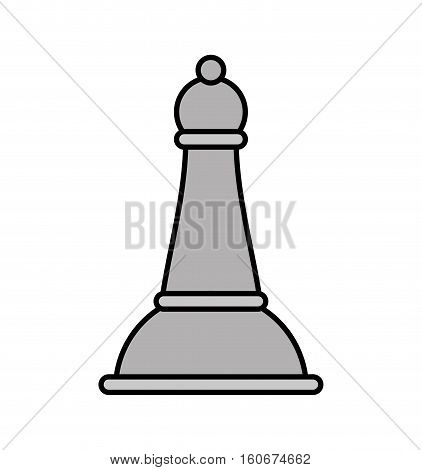chess piece isolated icon vector illustration design