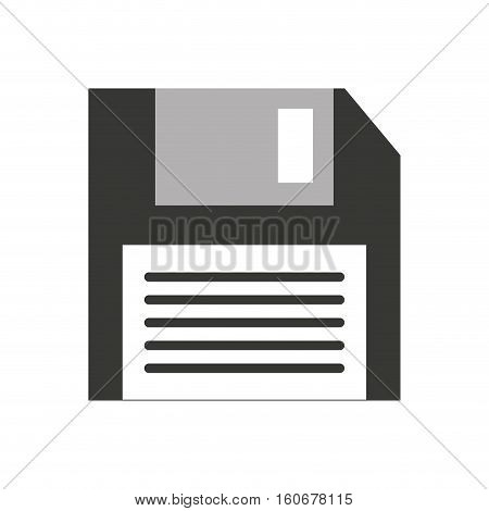 floppy disk isolated icon vector illustration design