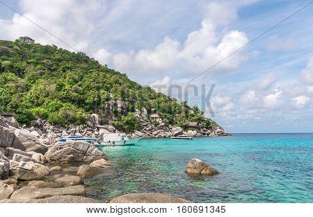 Seascape of Koh Tao Island Surat Thani Thailand