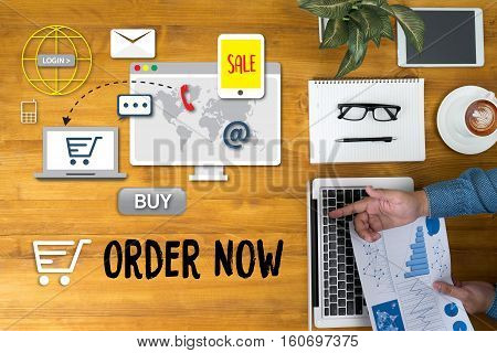 Order Now Add To Cart Online  Order Store Buy Shop  Online Payment Shopping Business And Modern Life