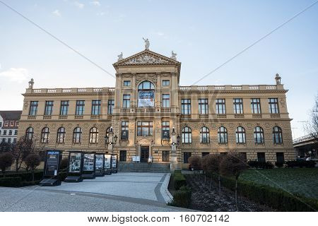 The City Of Prague Museum Located In Prague