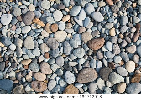 stone background - pebble stones texture - stone background - pebble stones texture