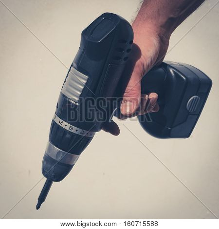 Hand Holding Drilling Machine , Electric Screwdriver