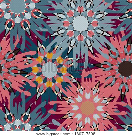 vintage tribal seamless pattern vector royalty free stock illustration