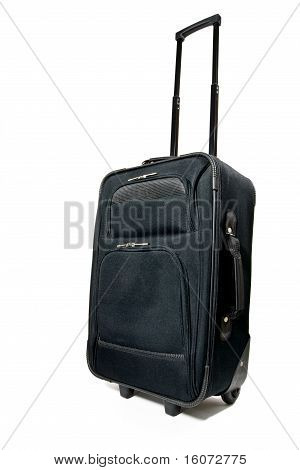 Suitcase On White Background