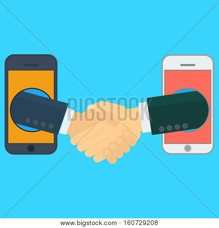 Virtual Handshake In Mobile