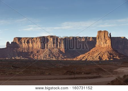 Monument Valley National Park in Arizona, USA