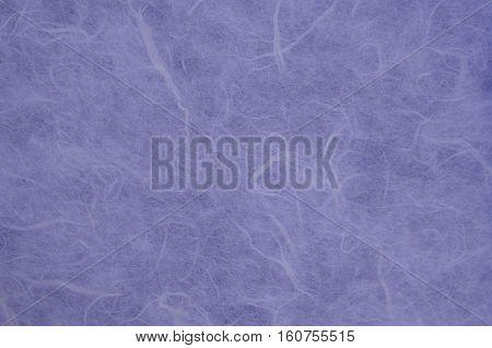 Blue mulberry paper texture.Handmade mulberry paper texture.Mulberry paper background.Rice paper texture.