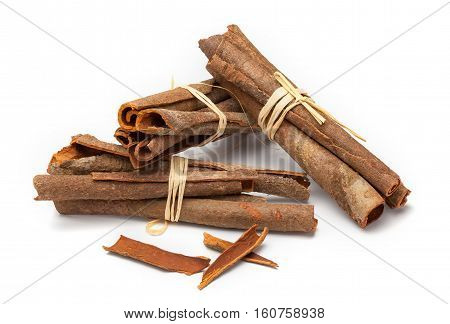 Cinnamomum cassia called Chinese cassia or Chinese cinnamon is an evergreen tree originating in southern China.