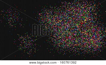 Vector Texture-the Colored Fine Crumbs. Vector