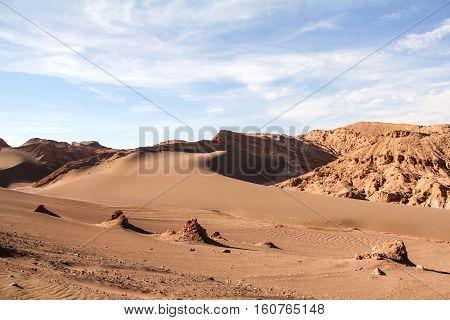 Valley of the Moon in Chile's Atacama Desert
