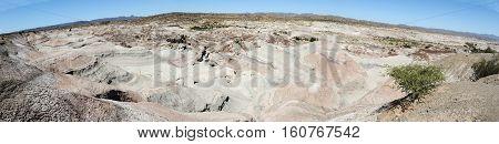 Valle de la Luna natural park on argentina andes, UNESCO world heritage