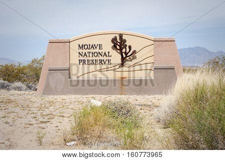 Mojave National Preserve California
