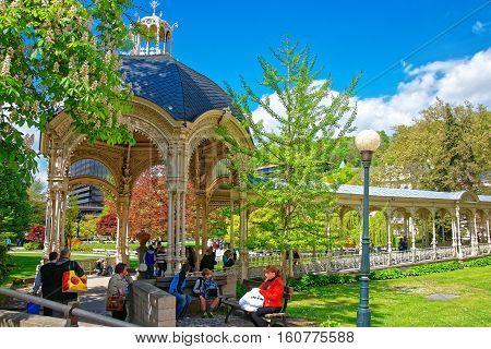 Park Colonnade Karlovy Vary Czech Republic