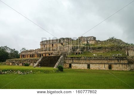 Ruins Of The Ancient Mayan City Of Kabah, Mexico