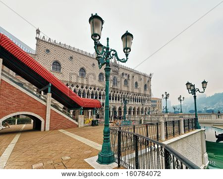 Quay At Venetian Macao Hotel And Casino Luxury Resort Macau