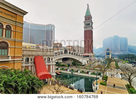 Venetian Macao Casino And Hotel Luxury Resort Of China