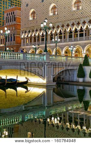 Waterfront In Venetian Macao Casino And Hotel Luxury Resort Macau