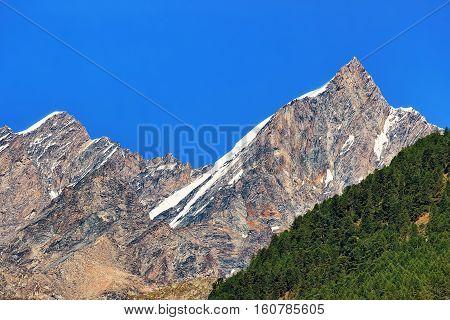 Highland Between Tasch And Zermatt Swiss