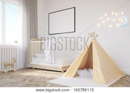 Baby's Room. Crib, Tent