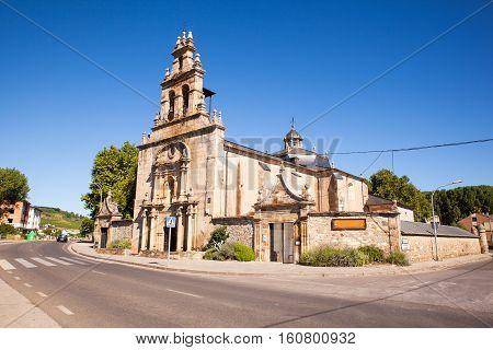 Santuario Virgen de las Angustias in Cacabelos Spain