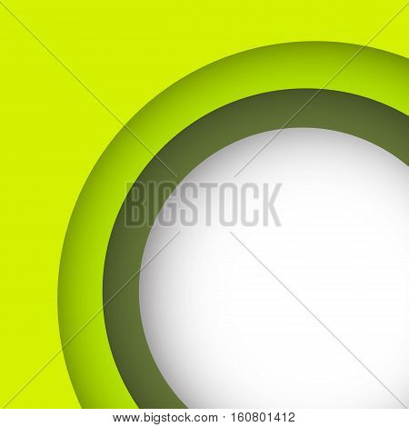 Abstract green background with copy space, stock vector