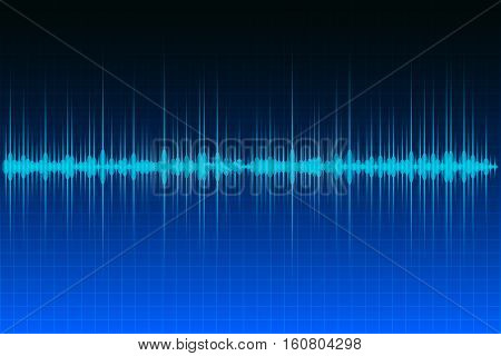 Abstract background audio or sound wave image.
