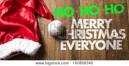 HO-HO-HO Merry Christmas Everyone