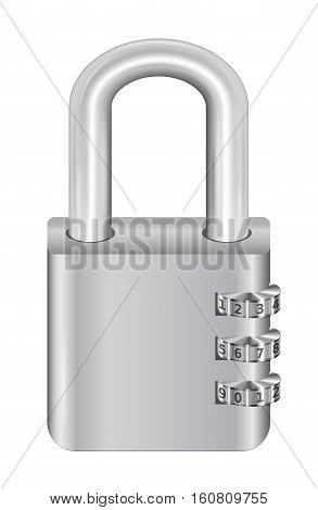 a steel master key lock with padlock