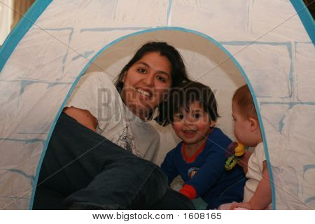 Play In Igloo Tent