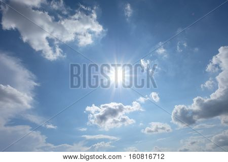 sky, clouds, blue, background, clear, summer, white, heavens, fall, outdoors, day, sunlight, color, view, seasonal, light, season, weather, scenic, haze, precipitation, cloudiness, sunny, moisture, fluffy, sunshine, front, climate, cloudy, high, beauty, o