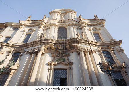 St. Nicholas Church (malá Strana)prague
