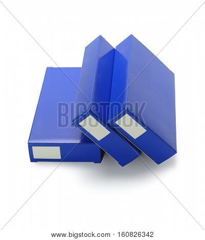 Medicine Packaging Cardboard Boxes on White Background